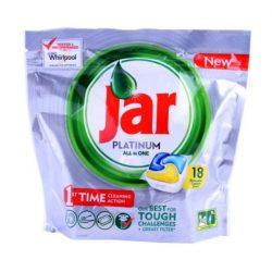 Jar Platinum mosogatógép kapszula 18db Lemon
