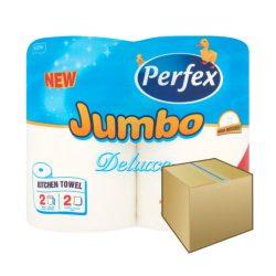 Perfex JUMBO konyhai papírtörlő 2rétegű 2 tekercs 12DB-OS KARTON ÁR
