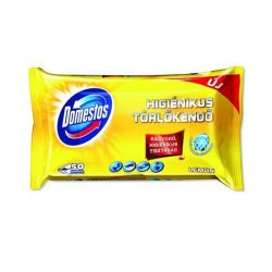 Domestos higiénikus törlőkendő 60 db Lemon