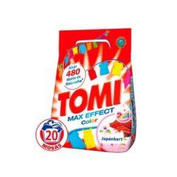 Tomi mosópor 20mosás 1,4kg Color japánkert