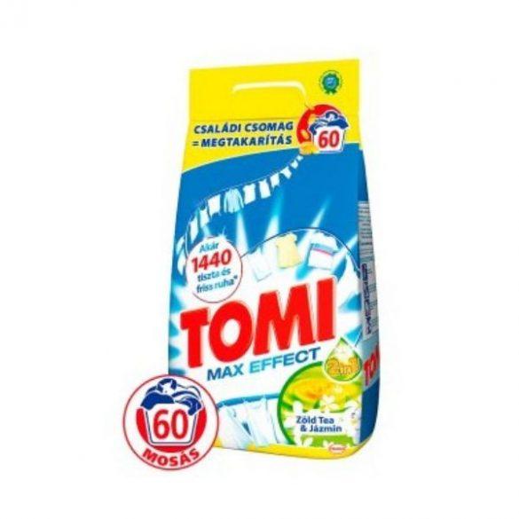 Tomi mosópor 60mosás 4,2kg Max effect Zöldtea&Jázmin