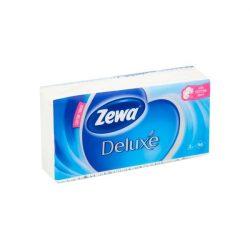 Zewa Delux papírzsebkendő 90db-os Illatmentes