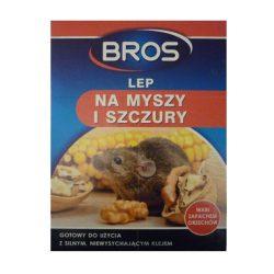 Bros egérfogó ragasztós lap mogyoró aromával B1740