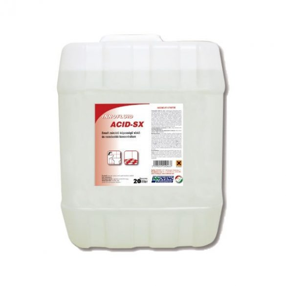 Innofluid ACID SX vízkőoldó koncentrátum 20L